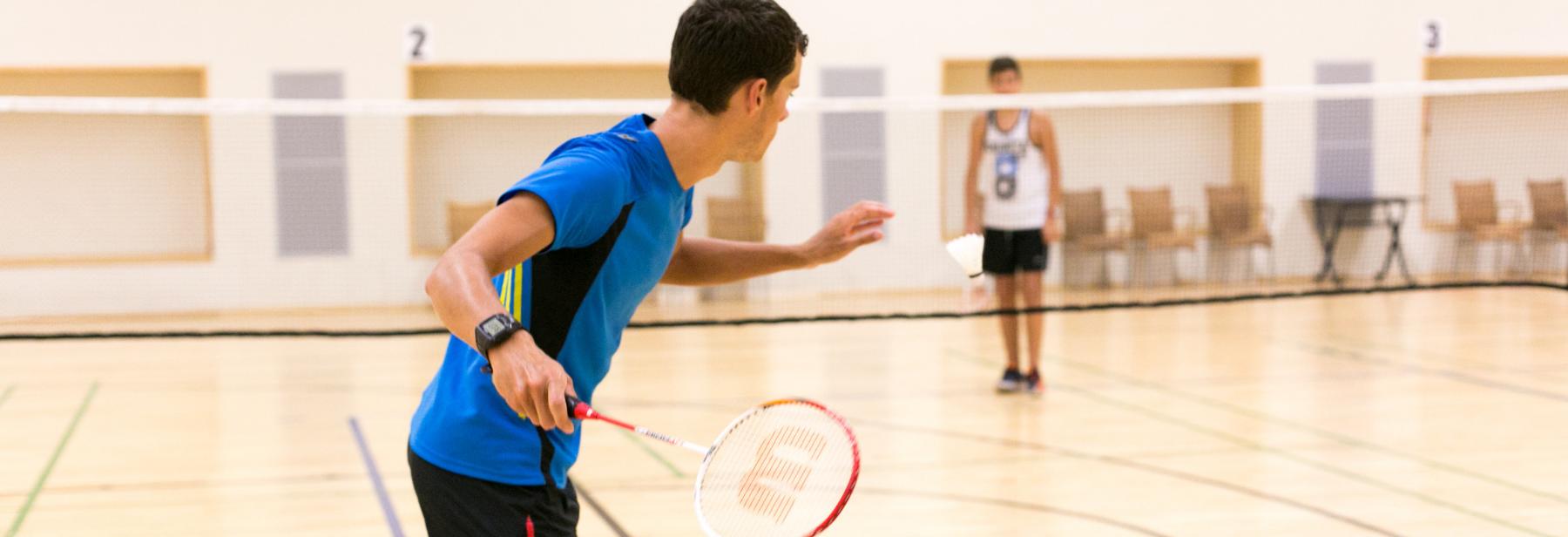 Veteran Badminton Tournament – for those aged 40+
